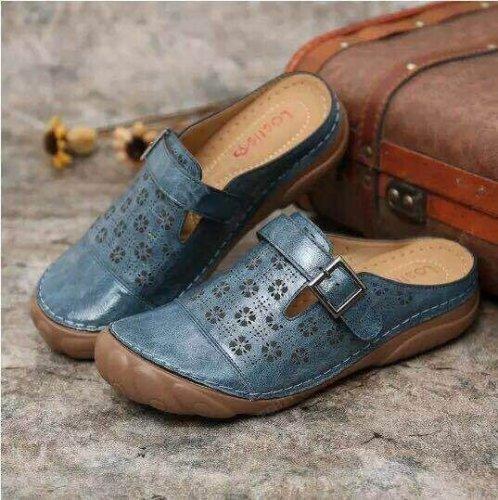 Women's Premium Orthopedic Diabetic Walking Vintage Slippers
