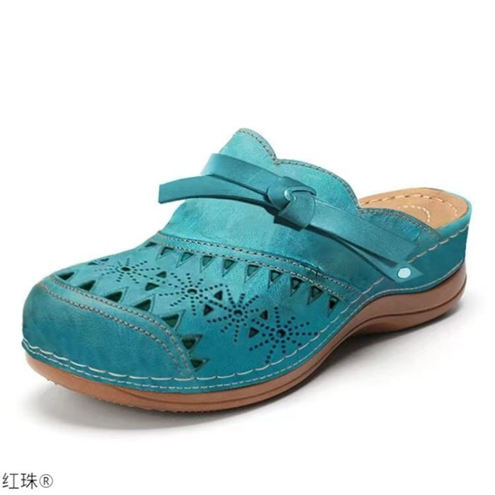 Limited Edition Women Orthopedic Hollow Carved Diabetic Walking Sandals