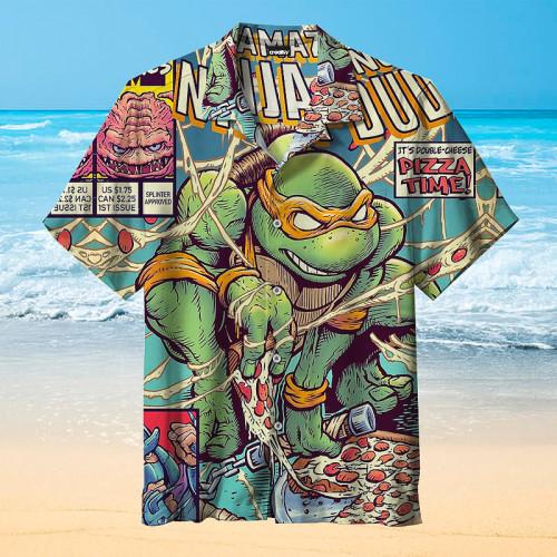 The Amazing Ninja Turtles  Universal Hawaiian Shirt