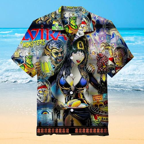 Mistress of the Dark Pinball |Universal Hawaiian Shirt