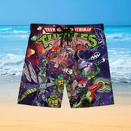 Ninja Turtles |Hawaiian Shorts