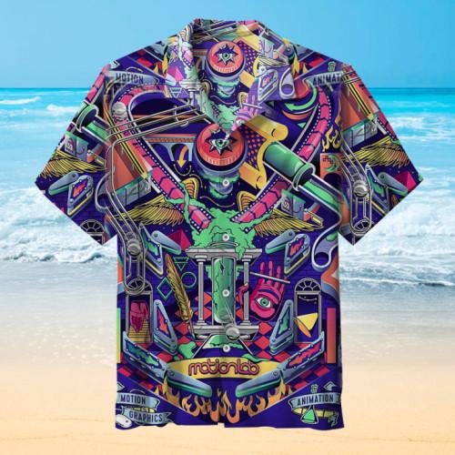 Pinball-Motion Lab |Universal Hawaiian Shirt