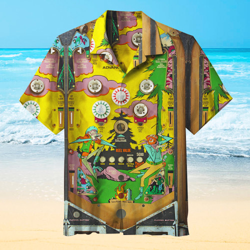 70s Pinball |Universal Hawaiian Shirt