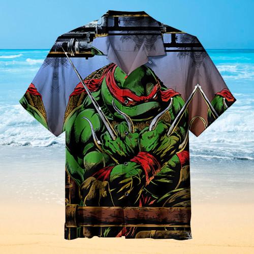 Angry Raphael |Universal Hawaiian Shirt