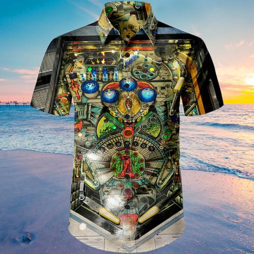 Embryon Pinball Machine |Unisex Hawaiian Shirt