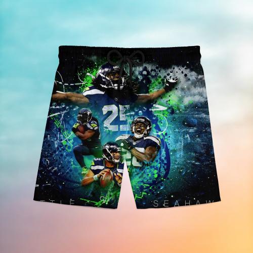 Seattle Seahawks Universal Hawaiian Shorts