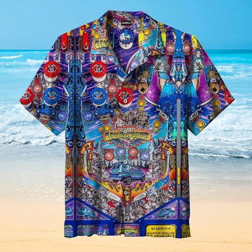 The Pabst Can Crusher Pinball Machine Pinball |Universal Hawaiian Shirt