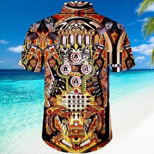 KISS Pinball Table|Universal Hawaiian Shirt