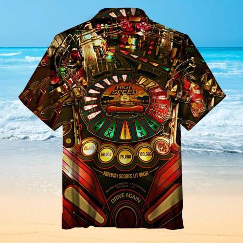 1986 Williams Pinball, High Speed|Universal Hawaiian Shirt