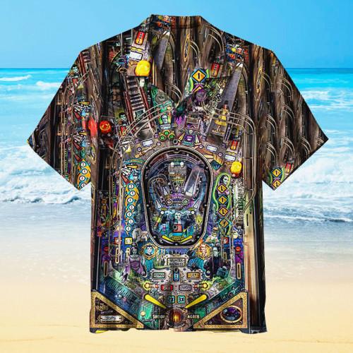 THE MUNSTERS REVEALED Retro Pinball |Universal Hawaiian Shirt