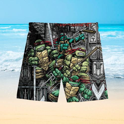 Teenage Mutant Ninja Turtles |Hawaiian Shorts