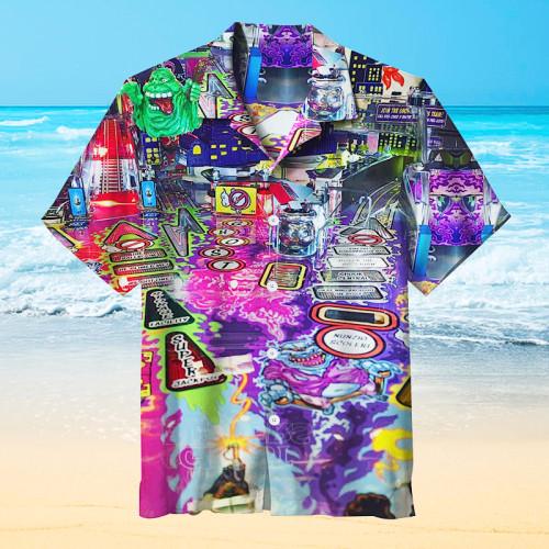 Ghostbusters Pinball |Universal Hawaiian Shirt