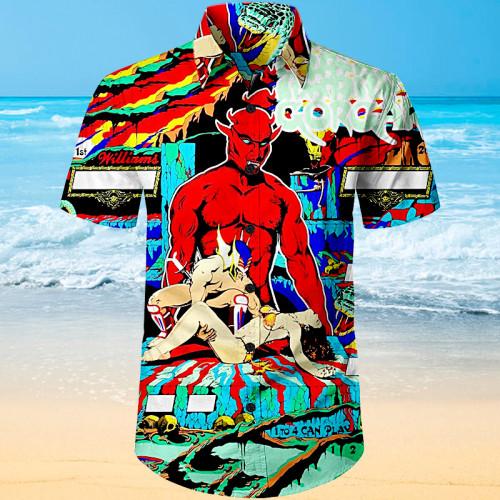 Gorgar Pinball |Unisex Hawaiian Shirt