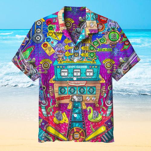 Elvira's House of Horrors Pinball |Universal Hawaiian Shirt