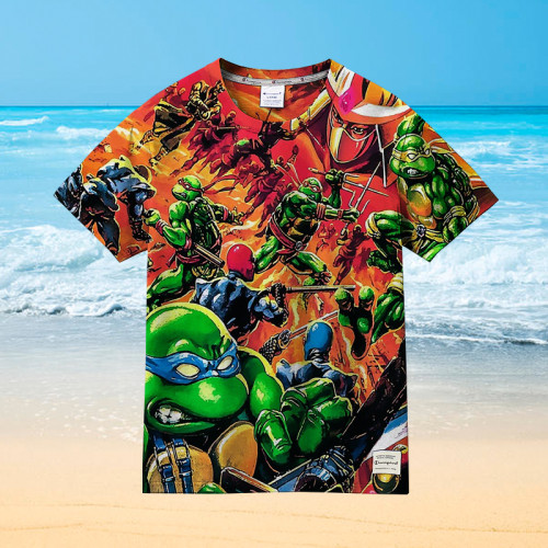The Amazing Ninja Turtles |Universal Hawaiian Shirt