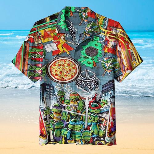 Ninja Turtles Pinball |Universal Hawaiian Shirt