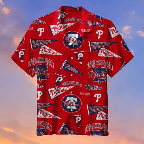 MLB Philadelphia Phillies Retro Hawaiian shirt