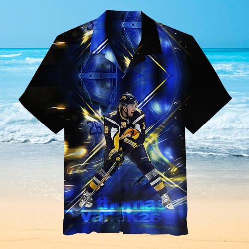 Hockey Player Universal Hawaiian Shirt