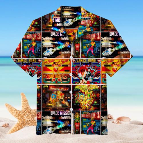 Pinball Collection |Unisex Hawaiian Shirt