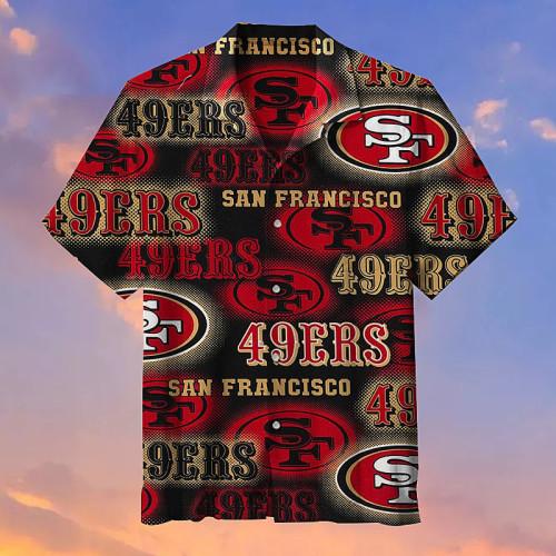 NFL San Francisco 49ers Hawaiian shirt