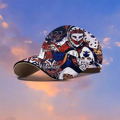 Amazing Hockey Mask Hawaiian Cap