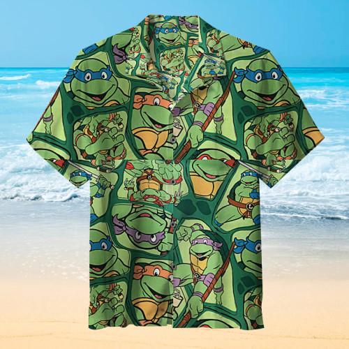 Ninja Turtles |Unisex Hawaiian Shirt