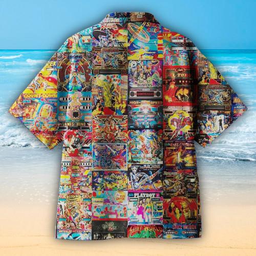Pinball Parlor Retro Arcade Universal Hawaiian Shirt