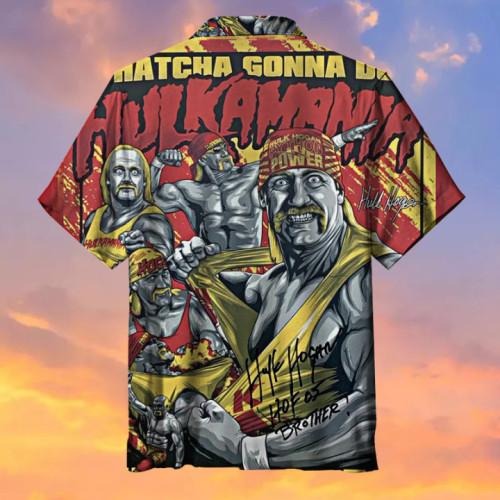 Hulkamania—Hulk Hogan  Universal Hawaiian Shirt
