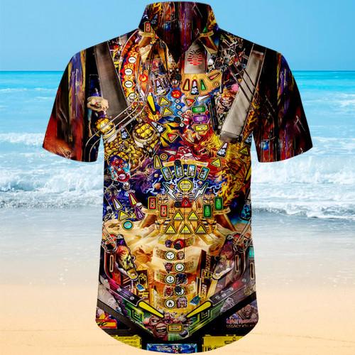 Iron Maiden Pinball |Unisex Hawaiian Shirt