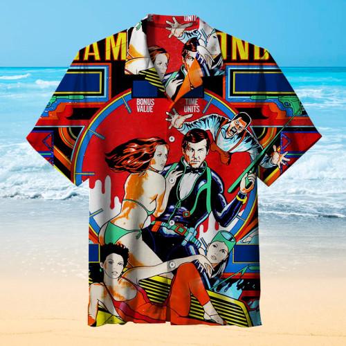 James Bond pinball |Unisex Hawaiian Shirt