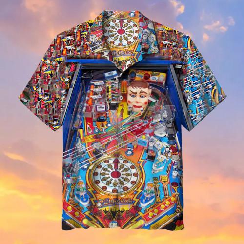 Funhouse Pinball Machine |Universal Hawaiian Shirt