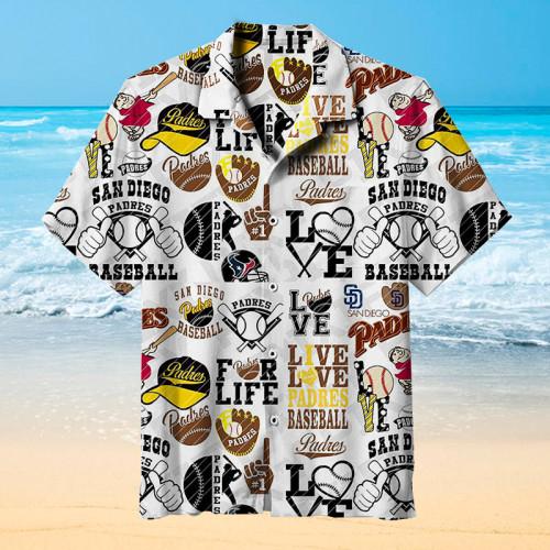 San Diego Padres  Universal Hawaiian Shirt