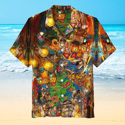 Dinosaur Park Pinball |Universal Hawaiian Shirt