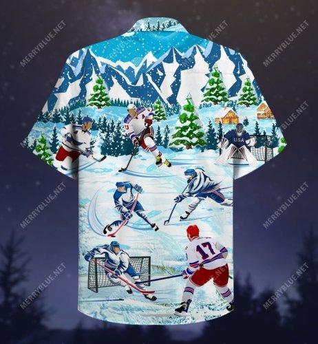 Let's Play Ice Hockey Short Sleeve Shirt