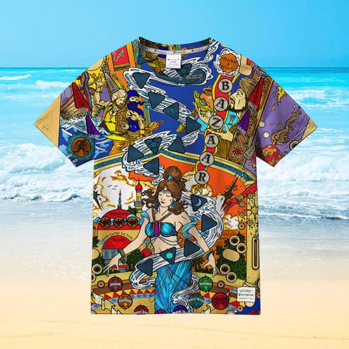 Pinball Art |Universal Hawaiian Shirt