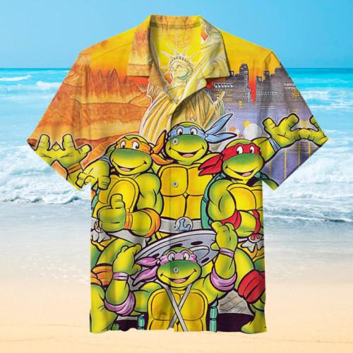 Teenage Mutant Ninja Turtles IV: Turtles in Time |Universal Hawaiian Shirt