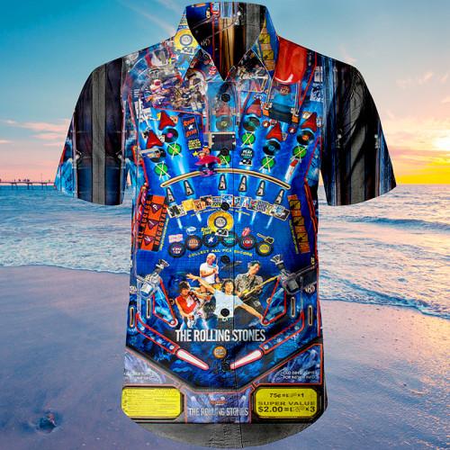 The Rolling Stones Pinball |Unisex Hawaiian Shirt