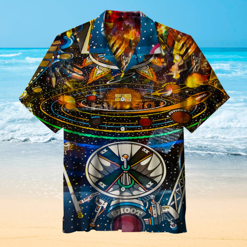 Play Pinball Art Print |Universal Hawaiian Shirt