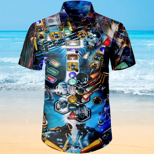 Tron Pinball |Unisex Hawaiian Shirt