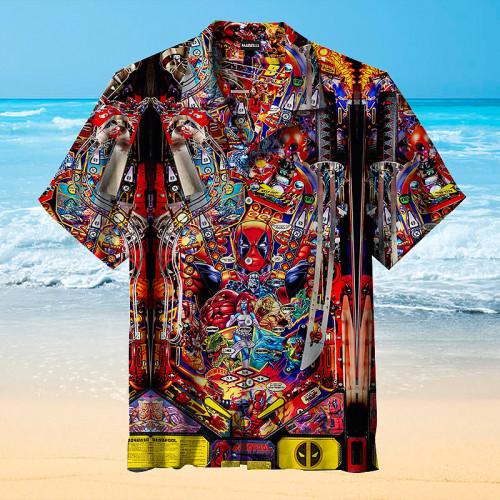 Deadpool Pinball |Universal Hawaiian Shirt