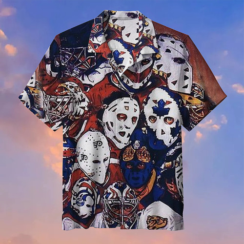 Amazing Hockey Mask Hawaiian shirt