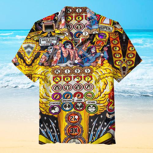 Kiss Pinball |Universal Hawaiian Shirt