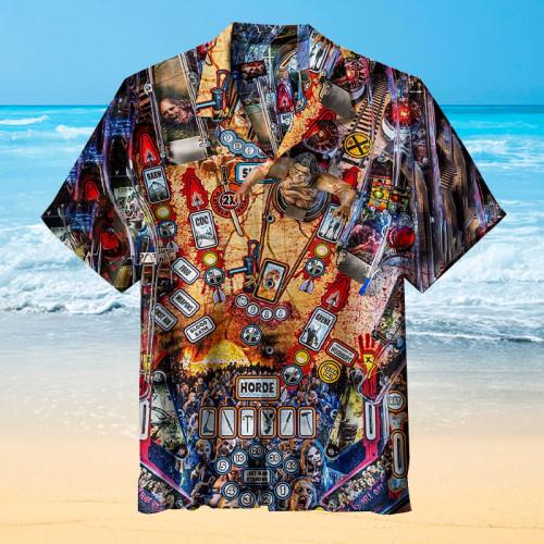 The Walking Dead Pinball |Universal Hawaiian Shirt