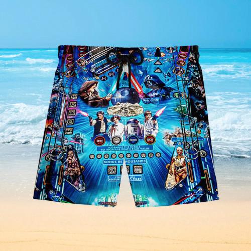 Star Wars Pinball |Hawaiian Shorts