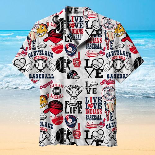 Cleveland Indians  Universal Hawaiian Shirt
