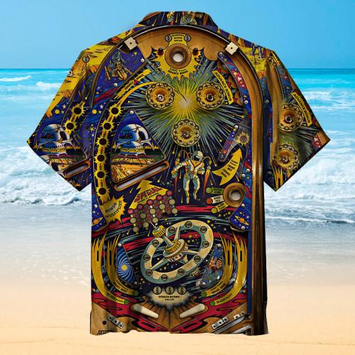 Pinball Future World|Universal Hawaiian Shirt