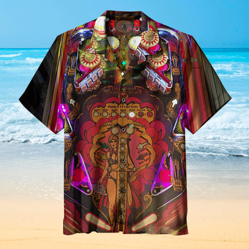 Mata Hari Pinball |Universal Hawaiian Shirt