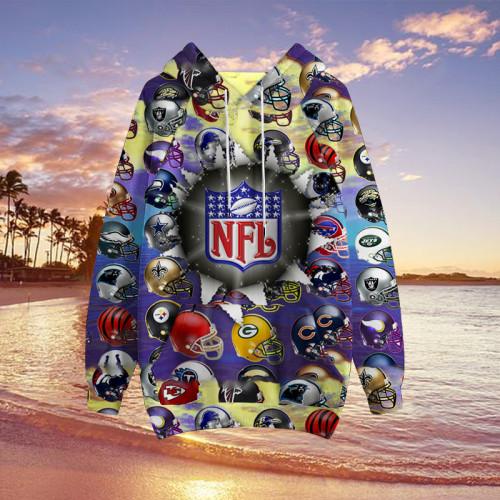 I like NFL   New Unisex Hoodie