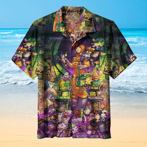 80s Radical Tribute Poster |Universal Hawaiian Shirt