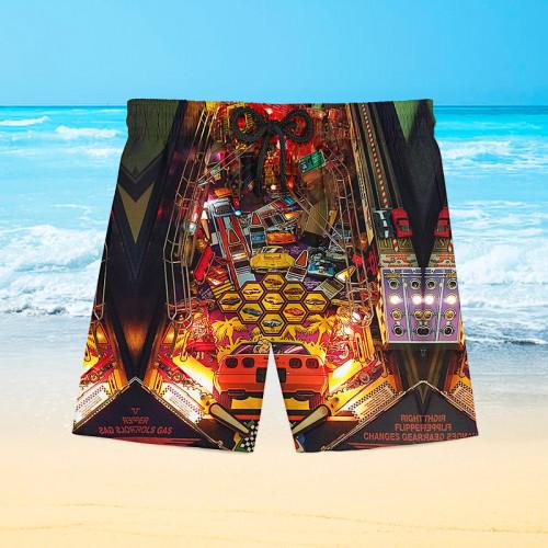 Corvette Pinball |Hawaiian Shorts